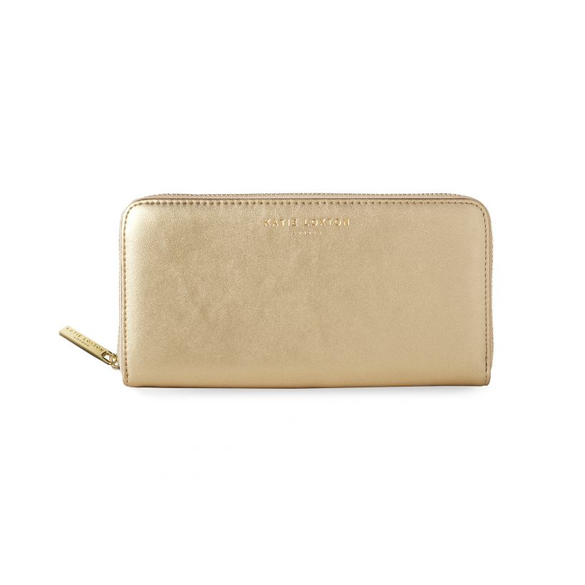 Katie Loxton -ALEXA METALLIC GOLD PURSE