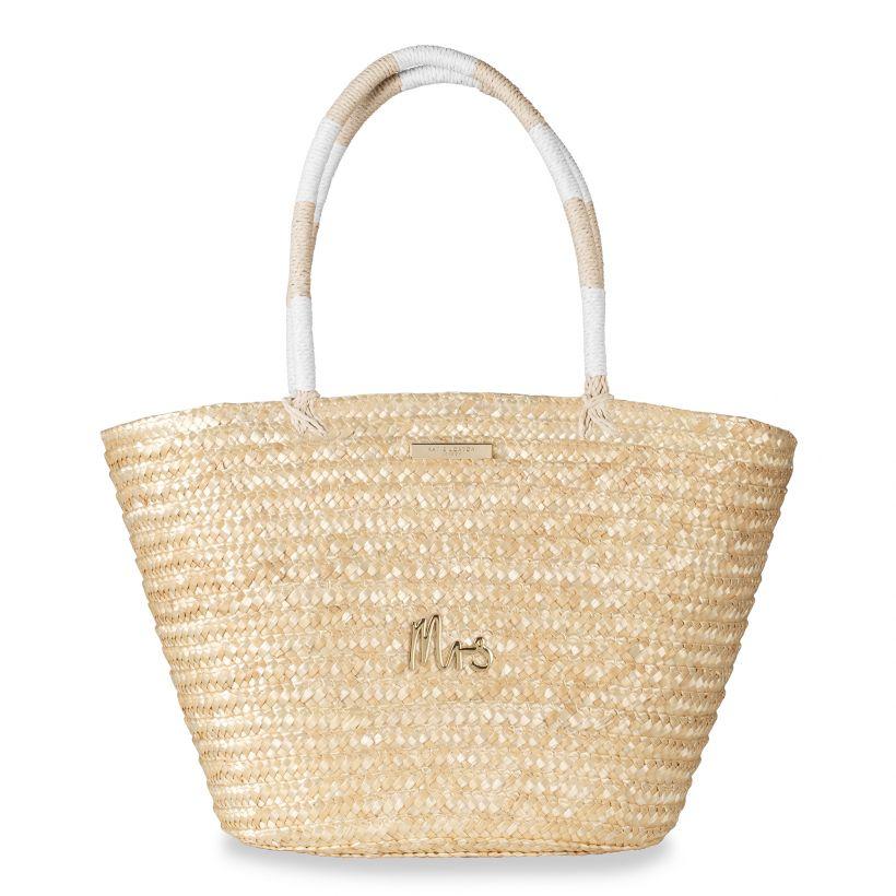 Katie Loxton SOFIA STRAW BASKET BAG MRS