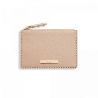 ALISE CARD HOLDER -TAN