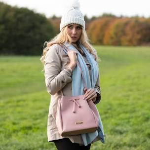 Katie Loxton Chloe Bucket Bag Pink