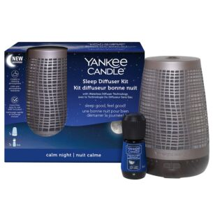 Yankee Candle Bronze Sleep Diffuser Kit - Calm Night
