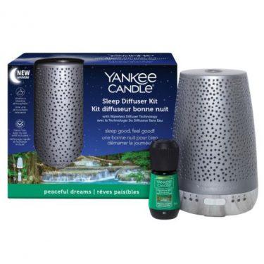 Yankee Candle Silver Sleep Diffuser Kit – Peaceful Dreams